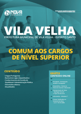 Apostila Concurso Prefeitura de Vila Velha 2020 Grátis Cursos Online