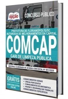 Apostila Concurso COMCAP 2020 Gari de Limpeza Pública PDF e Impressa