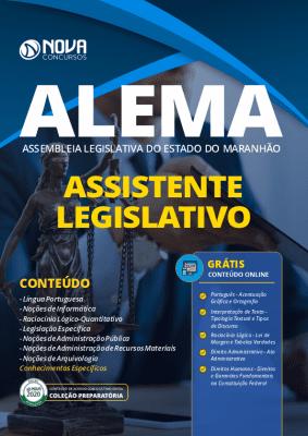 Apostila Concurso ALEMA 2020 Agente Legislativo Grátis Cursos Online