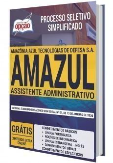 Apostila Concurso AMAZUL 2020 Assistente Administrativo PDF e Impressa