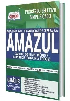Apostila Concurso AMAZUL 2020 Cargos de Nível Médio e Superior PDF e Impressa