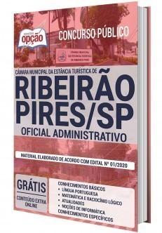 Apostila Concurso Câmara de Ribeirão Pires 2020 Oficial Administrativo PDF e Impressa