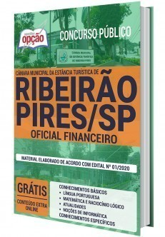 Apostila Câmara de Ribeirão Pires 2020 Oficial Financeiro PDF e Impressa