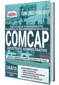 Apostila Concurso COMCAP 2020 Assistente Administrativo PDF e Impressa