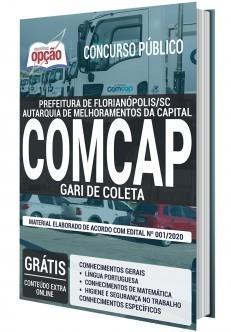 Apostila Concurso COMCAP 2020 Gari de Coleta PDF e Impressa