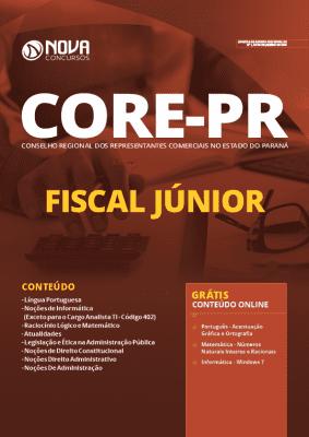 Apostila Concurso CORE PR 2020 Fiscal Júnior Grátis Cursos Online