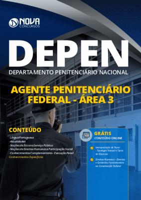 Apostila Concurso DEPEN 2020 Agente Penitenciário Federal PDF Grátis Cursos Online