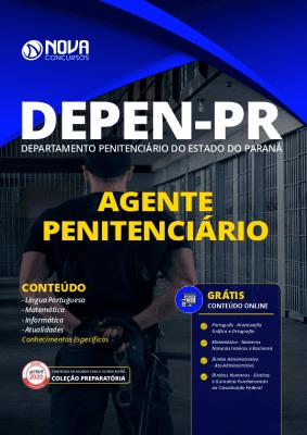 Apostila Concurso DEPEN PR 2020 Agente Penitenciário Grátis Cursos Online