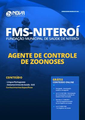 Apostila Concurso FMS Niterói 2020 Agente de Controle de Zoonoses Grátis Cursos Online
