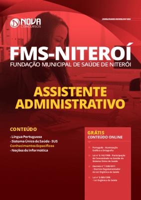 Apostila Concurso FMS Niterói 2020 Assistente Administrativo Grátis Cursos Online