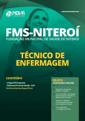Apostila Concurso FMS Niterói 2020 Técnico de Enfermagem Grátis Cursos Online
