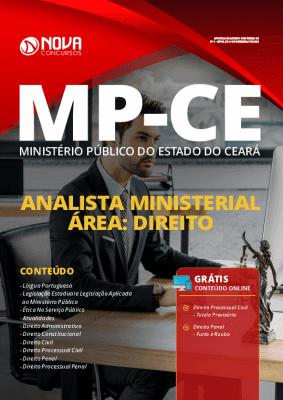Apostila Concurso MP CE 2020 Analista Ministerial Área Direito Grátis Cursos Online