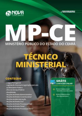 Apostila Concurso MP CE 2020 Técnico Ministerial Grátis Cursos Online