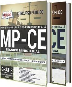 Apostila Concurso MP CE 2020 Técnico Ministerial PDF e Impressa