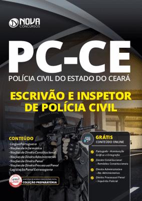 Apostila Concurso PC CE 2020 Escrivão e Inspetor de Polícia Civil Grátis Cursos Online