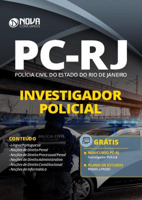 Apostila Concurso PC RJ 2020 Investigador Policial Grátis Curso Online