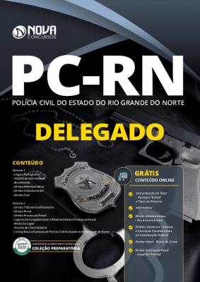 Apostila Concurso PC RN 2020 Delegado Grátis Cursos Online