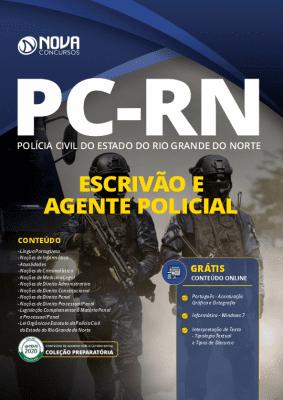 Apostila Concurso PC RN 2020 Escrivão e Agente Policial Grátis Cursos Online
