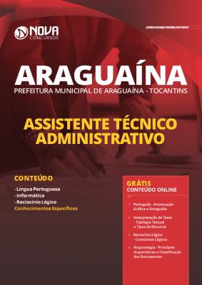 Apostila Concurso Prefeitura de Araguaína 2020 Grátis Cursos Online