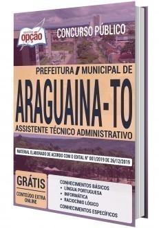 Apostila Concurso Prefeitura de Araguaína 2020 PDF e Impressa