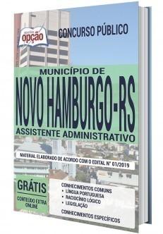 Apostila Concurso Prefeitura de Novo Hamburgo 2020 PDF e Impressa