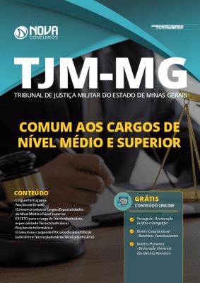 Apostila Concurso TJM MG 2020 Nível Médio e Superior Grátis Cursos Online