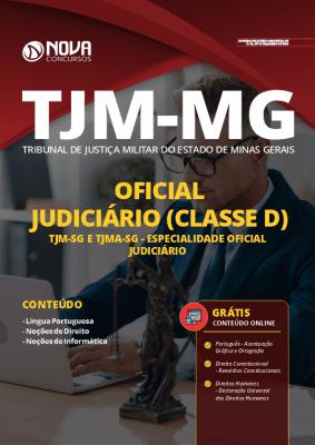 Apostila Concurso TJM MG 2020 Oficial Judiciário Grátis Cursos Online