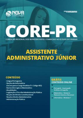 Apostila CORE PR 2020 Assistente Administrativo Grátis Cursos Online