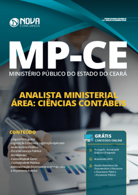 Apostila Concurso MP CE 2020 Analista Ministerial Área Ciências Contábeis Grátis Cursos Online