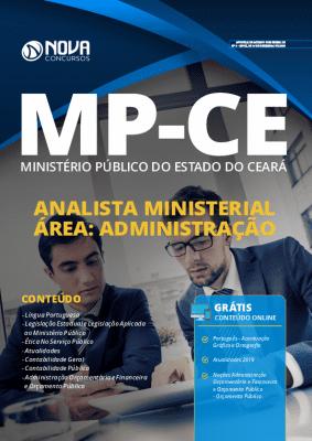 Apostila MP CE 2020 Analista Ministerial Administração Grátis Cursos Online