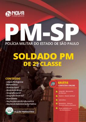 Apostila Concurso PM SP 2020 Grátis Cursos Online Soldado PM