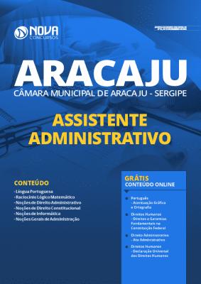Apostila Câmara de Aracaju 2020 Assistente Administrativo Grátis Cursos Online