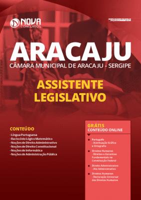 Apostila Câmara de Aracaju 2020 Assistente Legislativo Grátis Cursos Online