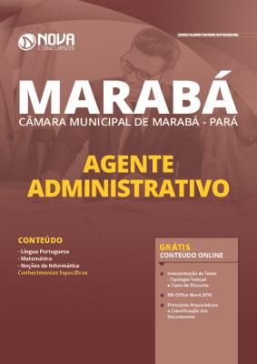 Apostila Câmara de Marabá 2020 Agente Administrativo Grátis Cursos Online