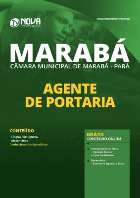 Apostila Câmara de Marabá 2020 Agente de Portaria Grátis Cursos Online