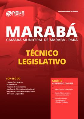 Apostila Câmara de Marabá 2020 Técnico Legislativo Grátis Cursos Online