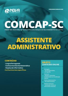 Apostila Concurso COMCAP 2020 Assistente Administrativo Grátis Cursos Online