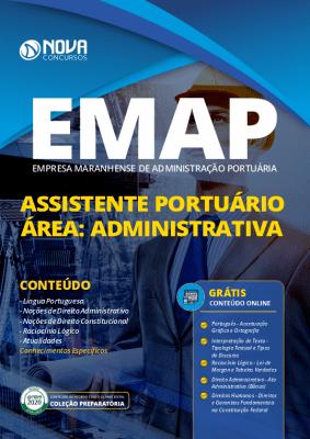 Apostila Concurso EMAP 2020 Assistente Portuário Grátis Cursos Online