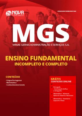 Apostila Concurso MGS 2020 Cargos de Nível Fundamental Grátis Cursos Online