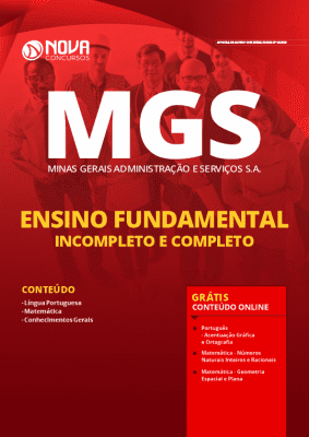 Apostila Concurso MGS 2020 Cargos de Ensino Fundamental Grátis Cursos Online