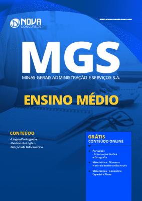 Apostila Concurso MGS 2020 Cargos de Nível Médio Grátis Cursos Online