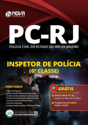 Apostila Concurso PC RJ 2020 Inspetor de Polícia Grátis Curso Online