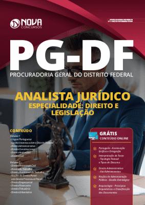 Apostila Concurso PG DF 2020 Analista em Direito Grátis Cursos Online