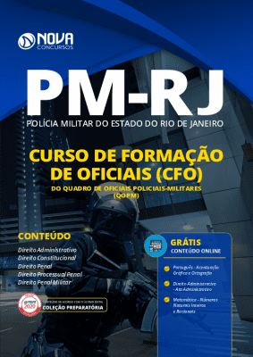 Apostila Concurso PM RJ 2020 Curso de Oficiais Grátis Cursos Online