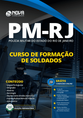 Apostila Concurso PM RJ 2020 Curso de Soldados Grátis Cursos Online