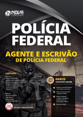 Apostila Concurso Polícia Federal 2020 Agente e Escrivão Grátis Cursos Online