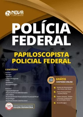 Apostila Concurso Polícia Federal 2020 Papiloscopista Grátis Cursos Online