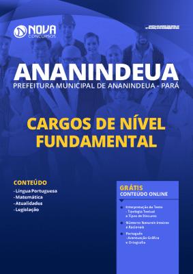 Apostila Concurso Prefeitura de Ananindeua 2020 Nível Fundamental Grátis Cursos Online