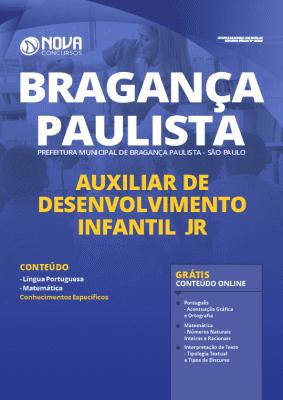 Apostila Concurso Prefeitura de Bragança Paulista 2020 Auxiliar de Desenvolvimento Infantil Jr. Grátis Cursos Online