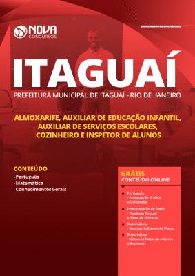 Apostila Concurso Prefeitura de Itaguaí 2020 Nível Fundamental Grátis Cursos Online